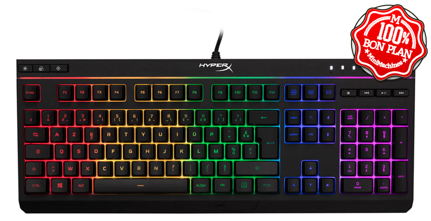 Clavier HyperX Alloy Core RGB