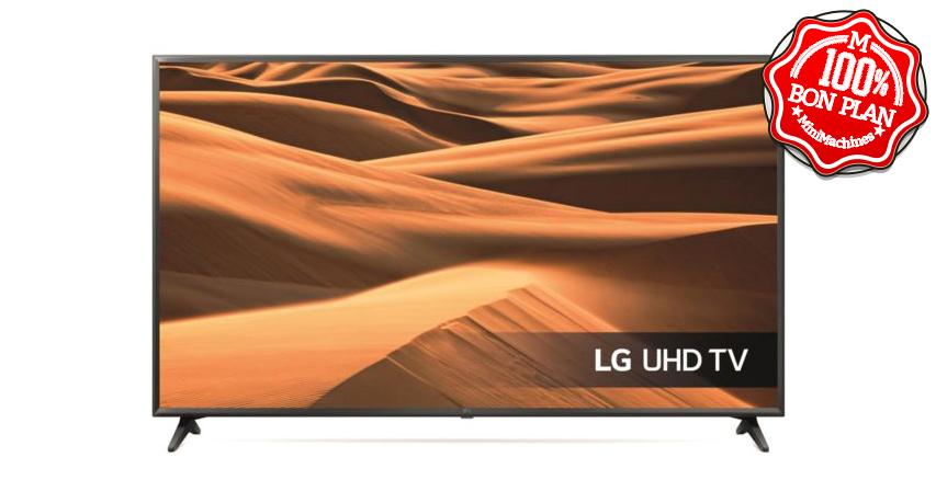 Téléviseur 55″ UltraHD LG 55UM7000 HDR