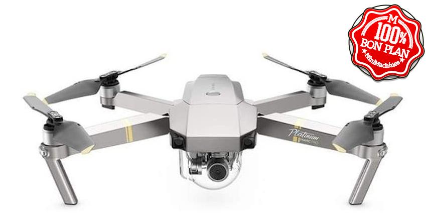 Drone DJI Mavic Pro Fly More Combo Platinum