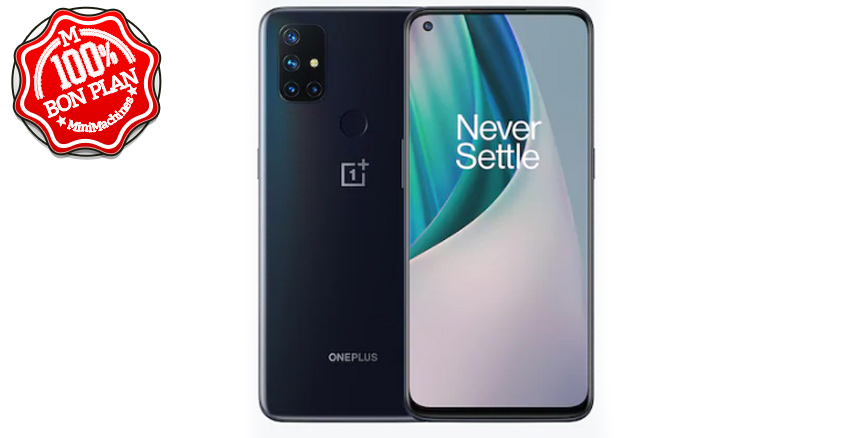 ⬛Smartphone OnePlus Nord N10 6/128 Go Gris