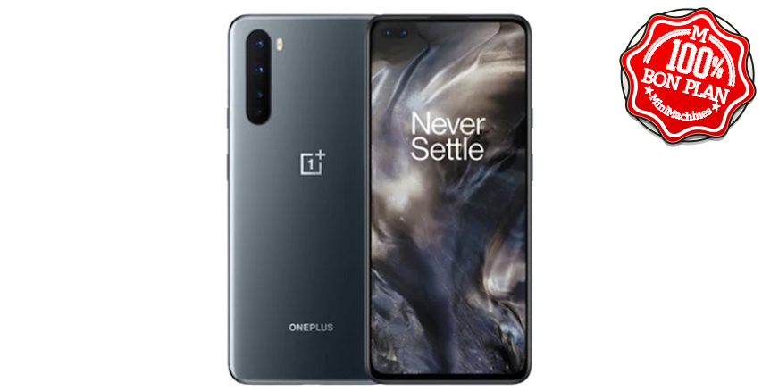 Smartphone OnePlus Nord 8/128 Go Gris