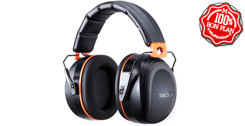 Casque anti-bruit Tacklife HNRE1