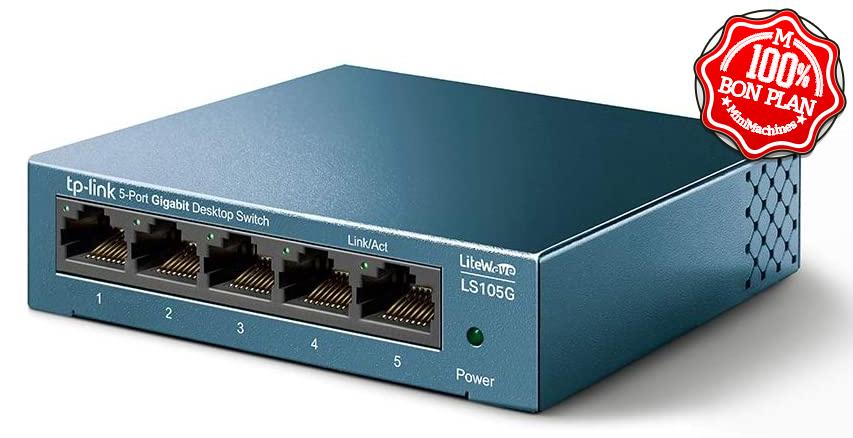 Switch TP-Link 5 ports Gigabit LS105G