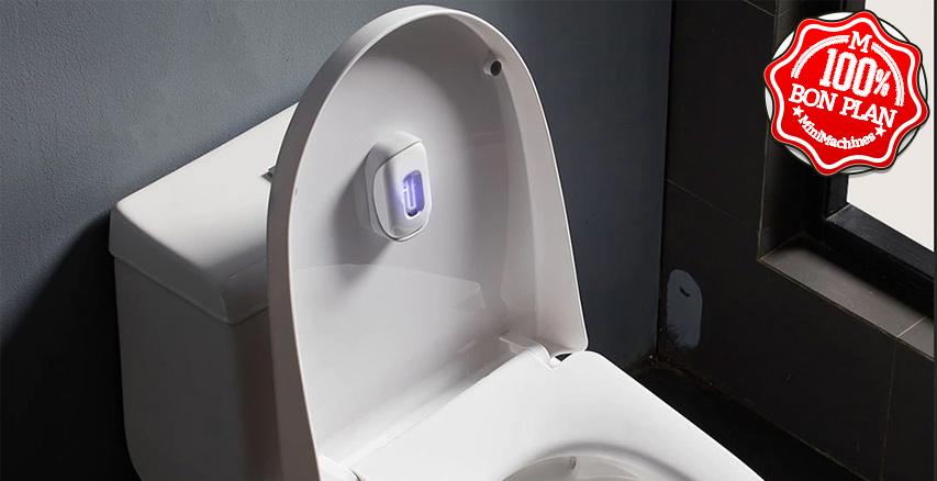 Stérilisateur UV pour toilettes