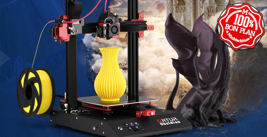 Imprimante 3D Ortur Obsidian