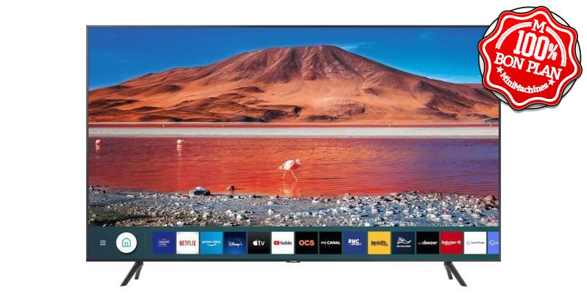Téléviseur UltraHD Samsung UE50TU7072U 50''