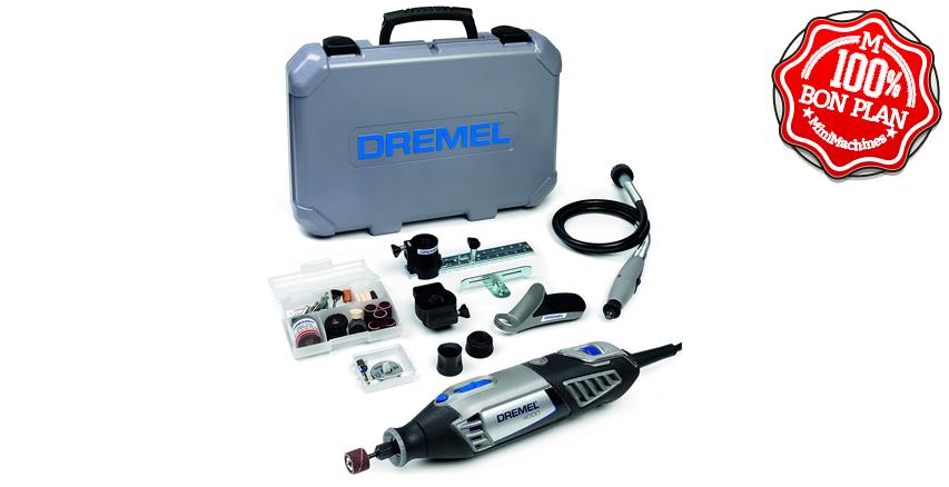 ⬛Outil multifonction Dremel 4000+ 45 accessoires
