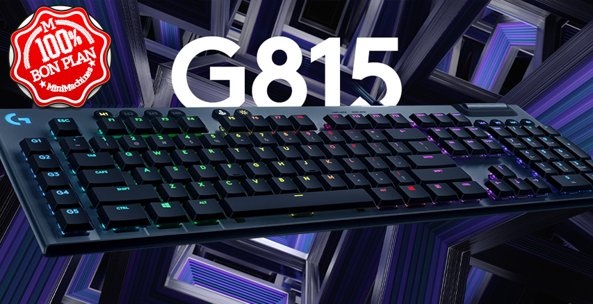 Clavier mécanique Logitech G815 LIGHTSYNC RGB
