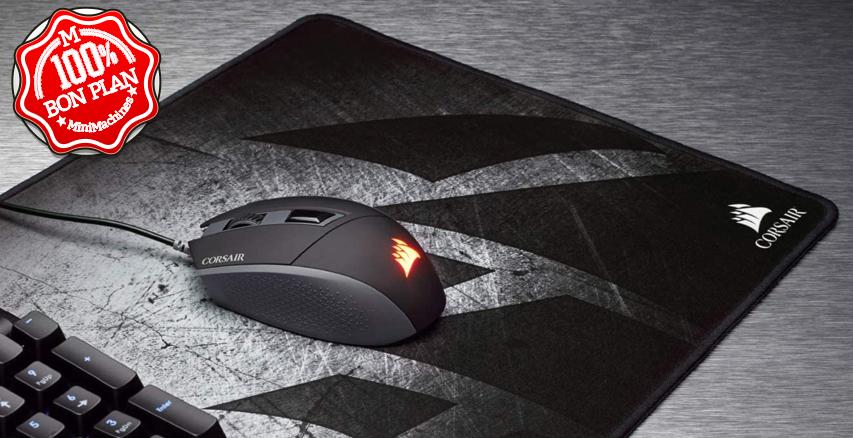 Tapis de Souris Gaming Corsair MM300 Noir/gris