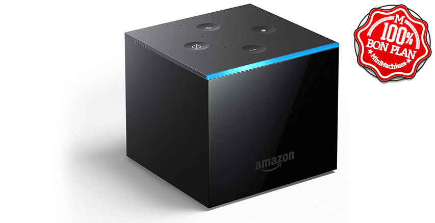 Amazon FireTV Cube UltraHD + Alexa