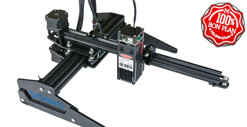 Graveuse Laser DIGGRO Laser Master 15W