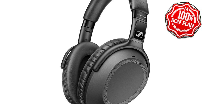 Casque Bluetooth Sennheiser PXC 550-II avec réduction de bruit