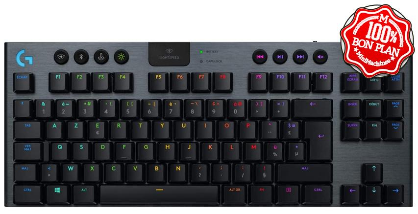 Clavier Gaming Logitech G915 TKL RVB