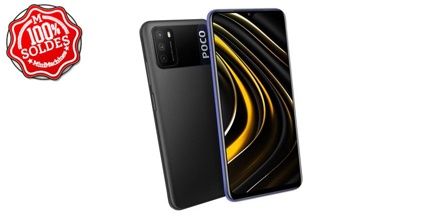 Smartphone Poco M3 4/64 Go Noir