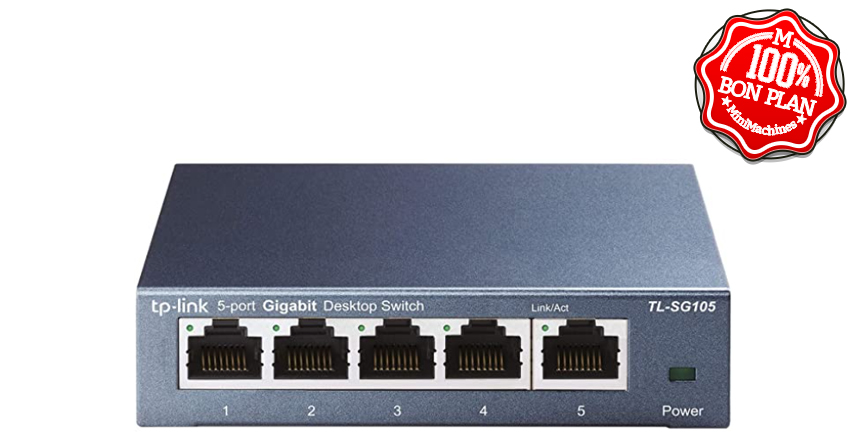 Switch TP-Link 5 ports Gigabit SG105
