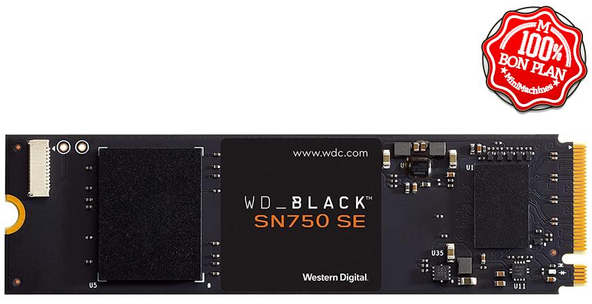 SSD WD Black SN750 SE 1 To M2 PCie NVMe