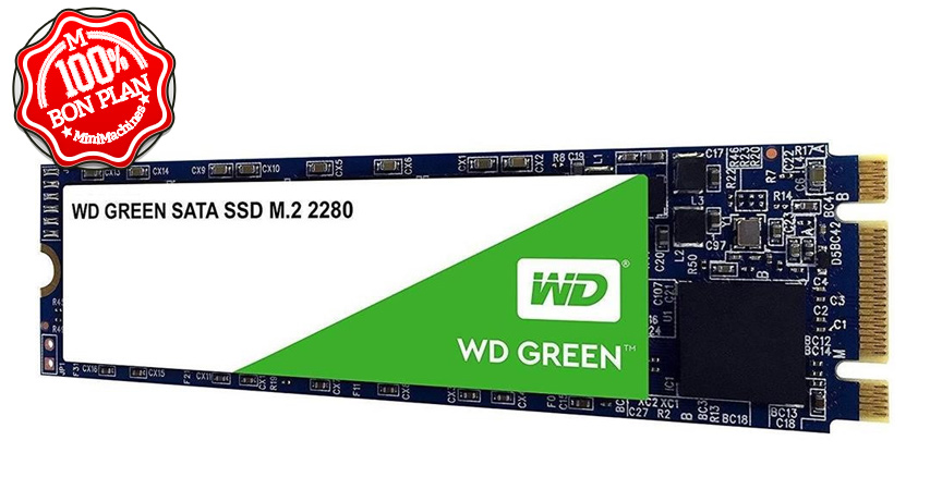 SSD Western Digital Green 240 Go M.2 2280 SATA 3.0