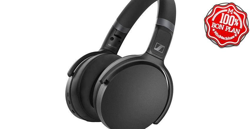 ⬛Casque Bluetooth Sennheiser  HD 450BT avec réduction de bruit active