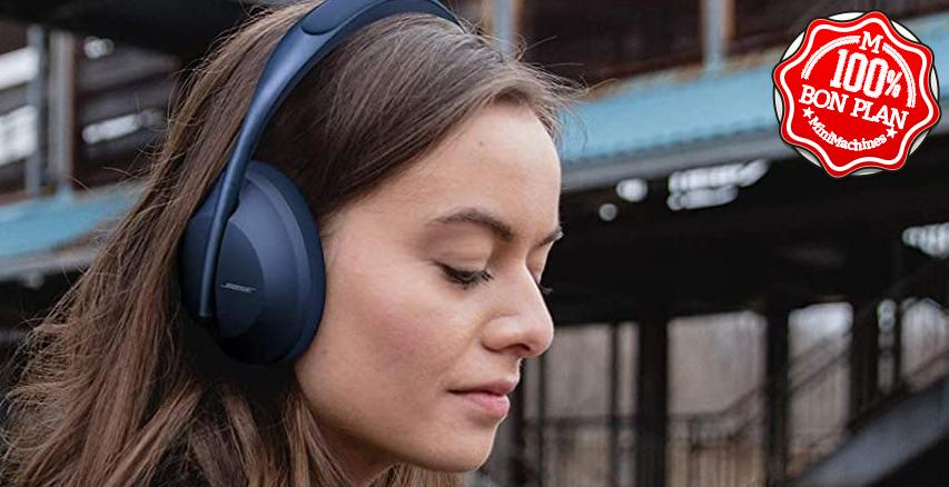 Casque sans fil à réduction de bruit Bose 700