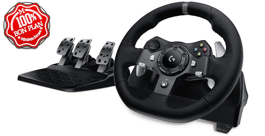 ⬛Volant Logitech G290 Driving Force avec Pédales