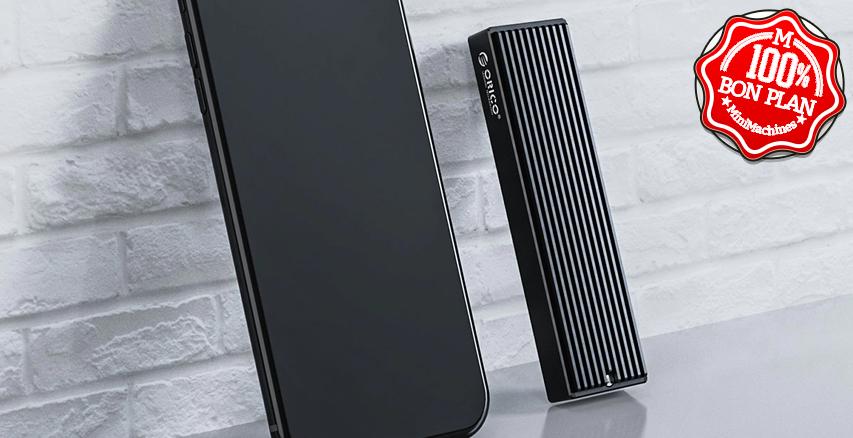 Boitier USB Type-C pour SSD M.2 NVME ORICO LNDMST