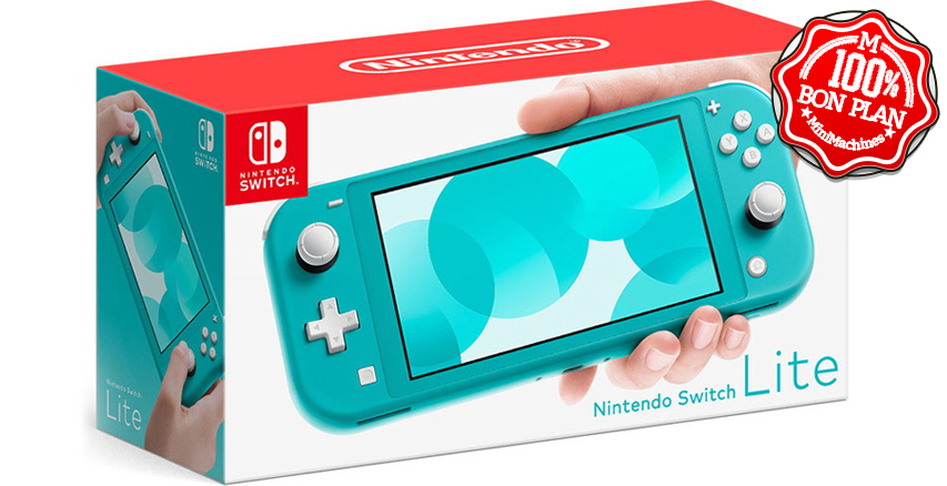 Switch Lite Turquoise + Animal Crossing : New Horizon + 3 mois d'abonnement Nintendo Switch Online