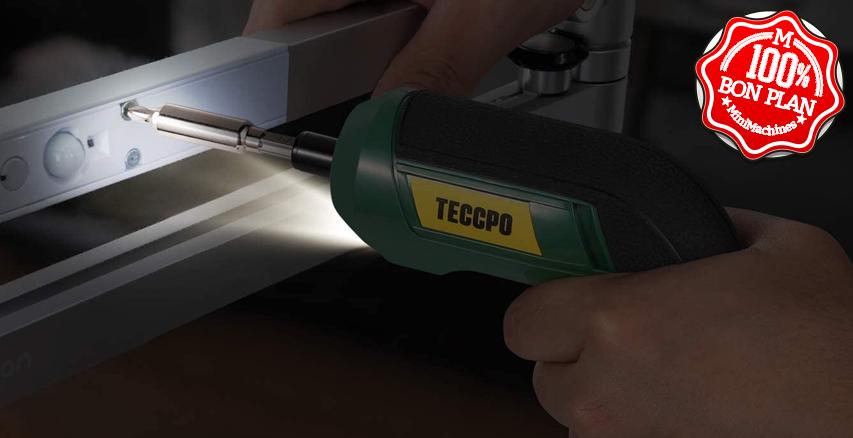 Visseuse sans fil TECCPO TDSC03P + embouts