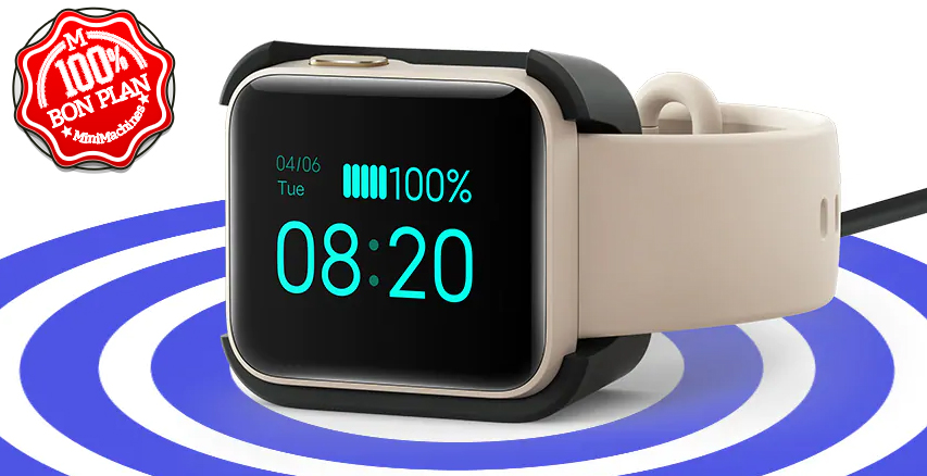 Montre connectée Xiaomi Mi Watch Lite Global (Menus en Français)