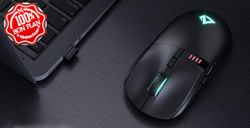 Souris sans fil Elite Knight AUKEY GM-F5 16000 DPI