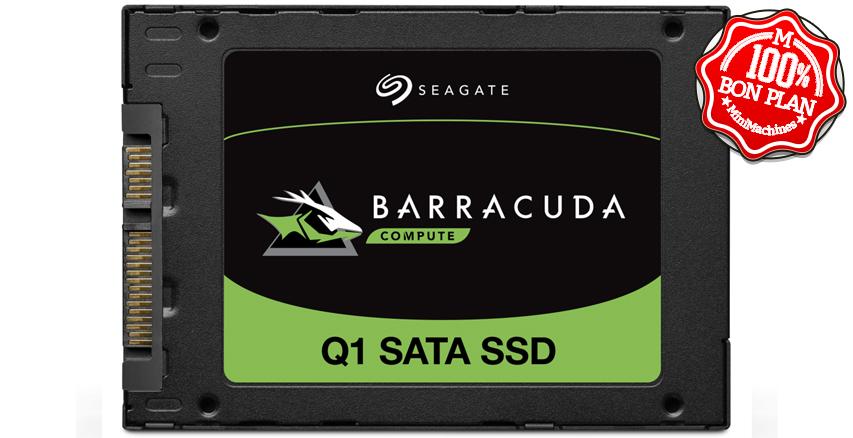 SSD 960 Go Seagate Barracuda Q1 2.5