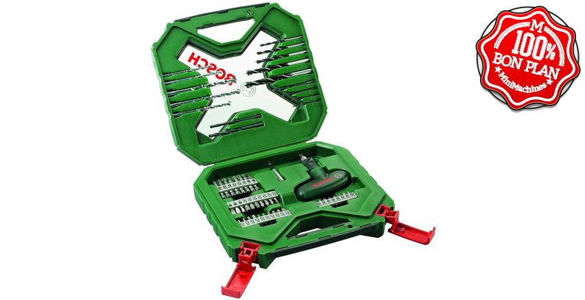 Coffret de mèches et forets Bosch X-Line 54 pièces