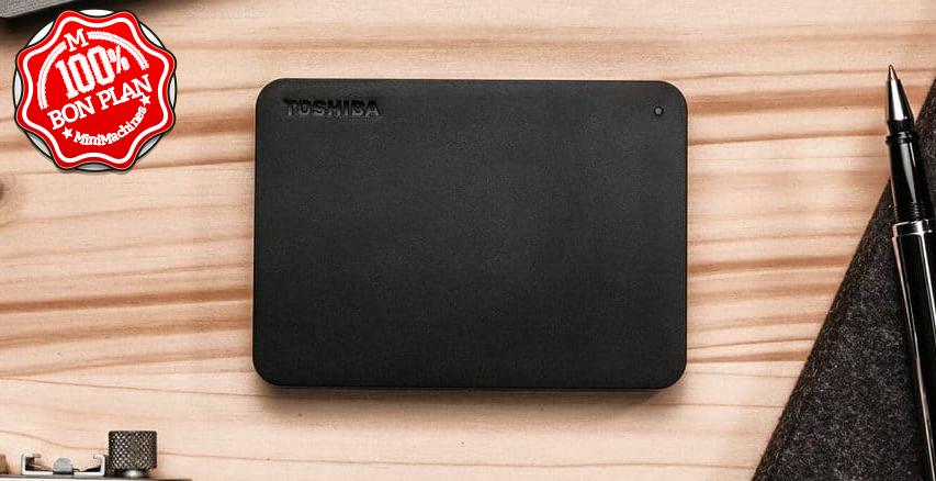 Disque externe Toshiba Canvio Basic 1 To 2.5