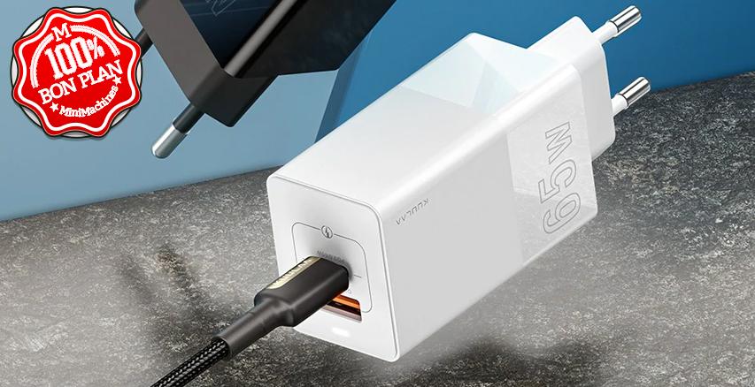 Chargeur GAN KL-CD14 65 watts