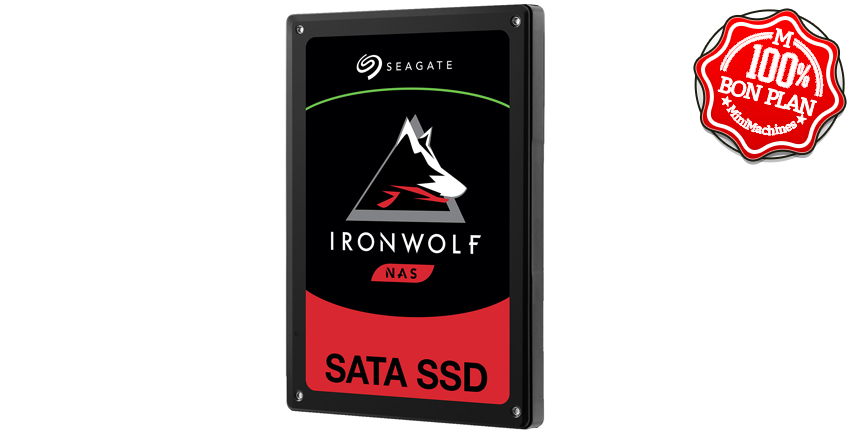 SSD Seagate 240 Go SATA 3.0 IRONWOLF 110 pour NAS