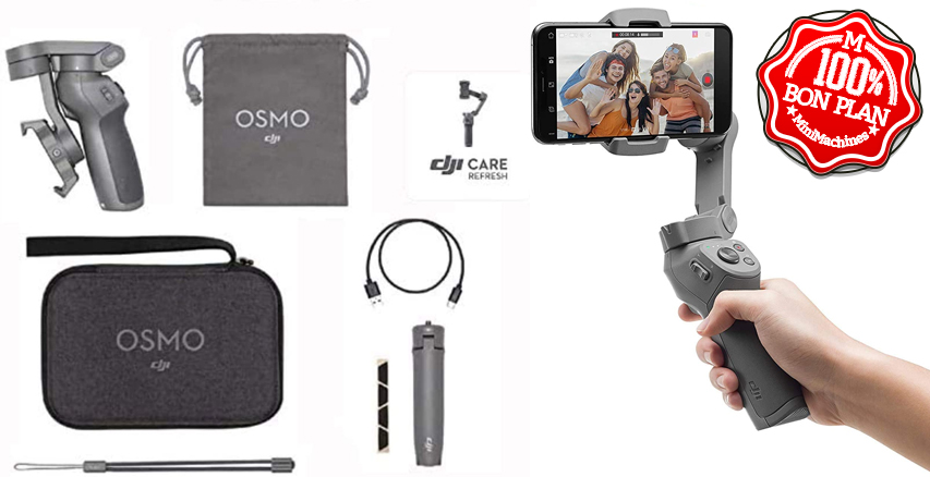 Stabilisateur smartphone DJI OSMO Mobile 3 Combo