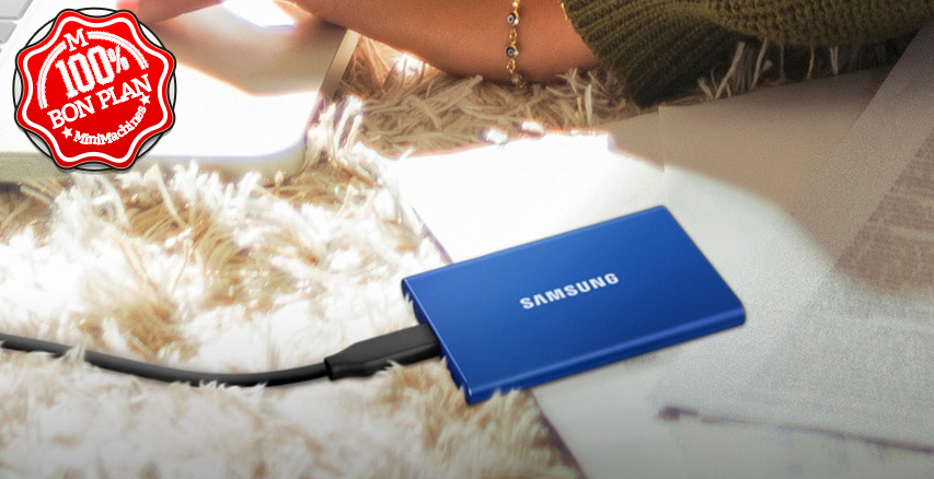 SSD Externe Samsung T7 500 Go