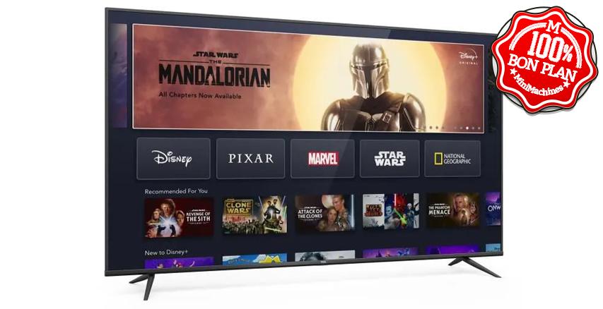 Téléviseur TCL 70BP600 TV LED 70'' UHD 4K + Android