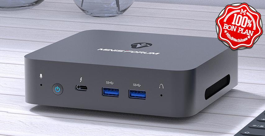 MiniPC Minisforum X35G i3-1005G1 16/512 Go Wifi6
