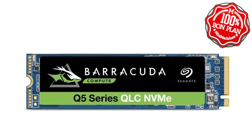 SSD Seagate 1 To BarraCuda Q5 PCIe NVMe