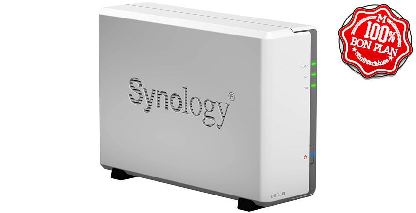 NAS Synology Disk Station DS120J 1 baie