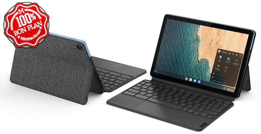 Lenovo IdeaPad Duet Chromebook 4/128Go
