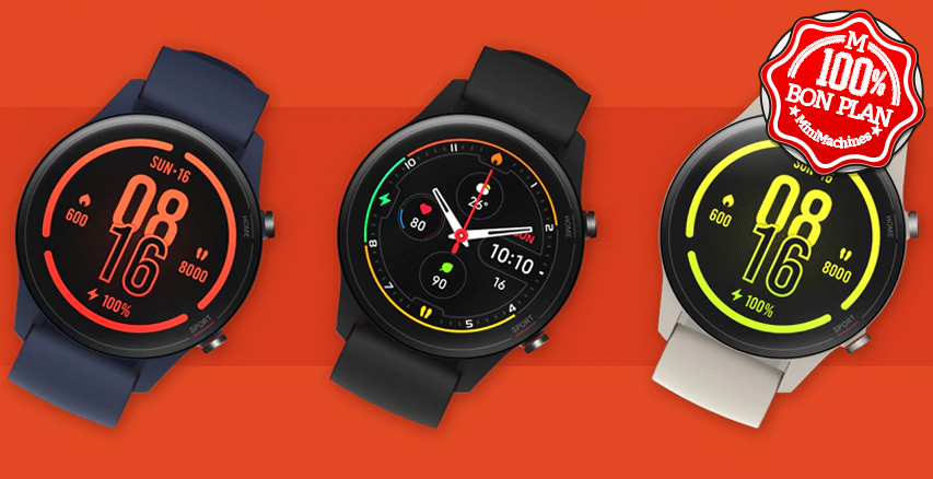 Montre connectée Xiaomi Mi Watch Global - GPS