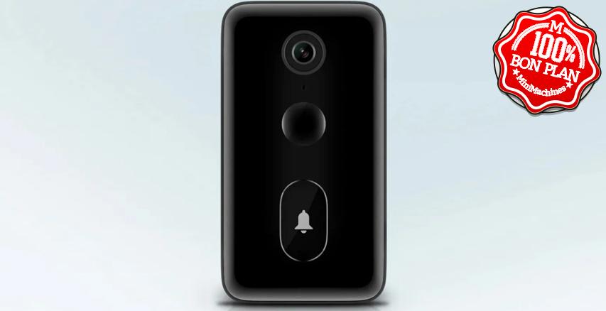 Sonnette vidéo Xiaomi Mijia grand angle et dialogue audio