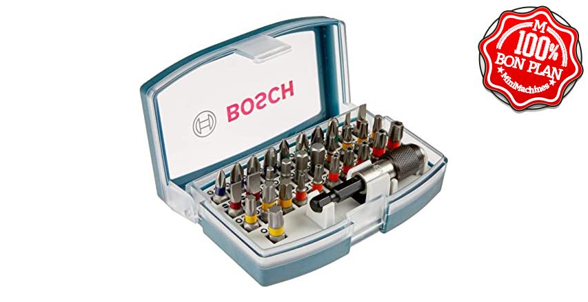 Jeu d'embouts de vissage Bosch Professional 32 pièces
