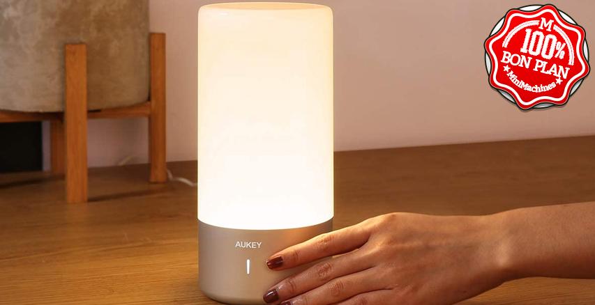 Lampe de chevet  Aukey RGB 360°