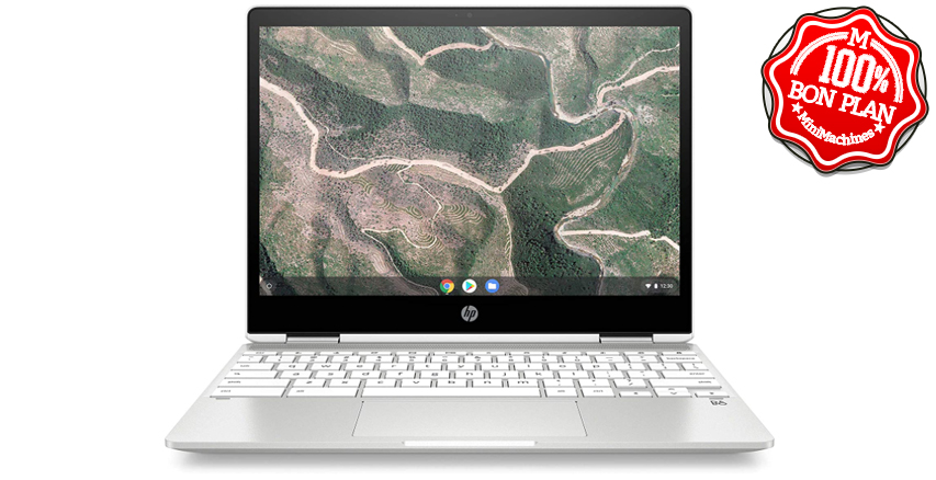 HP Chromebook x360 hybride tactile 12