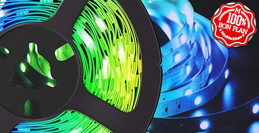 Ruban LED RGB Fokoos 5m + telco