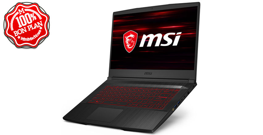 Portable Gamer MSI GF65 Thin 10UE-034XFR 15,6