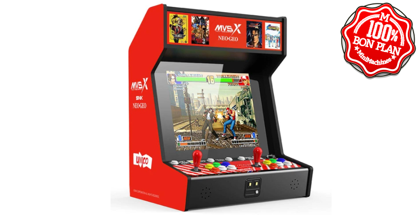Borne d'arcade SNK MVSX avec 50 classiques