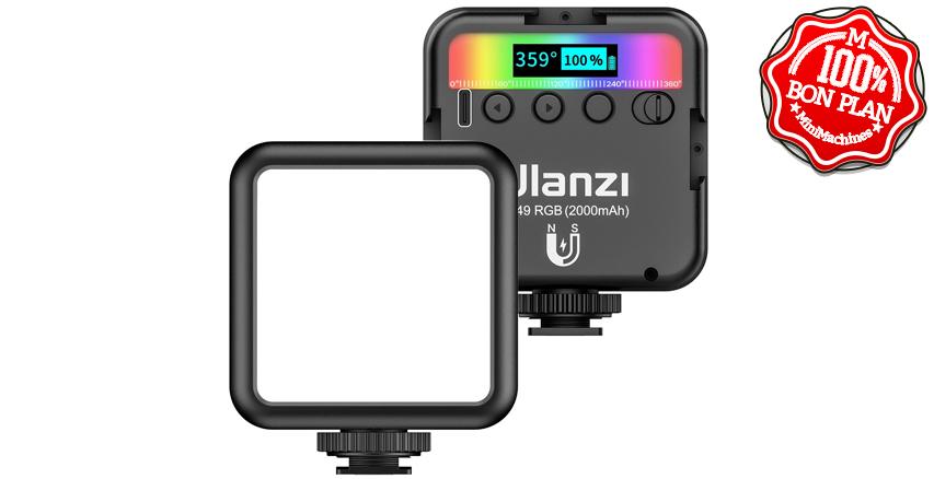 Lampe à LED RGB Ulanzi pour photo et vidéo